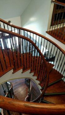 Dingler Custom Curved Staircase 5